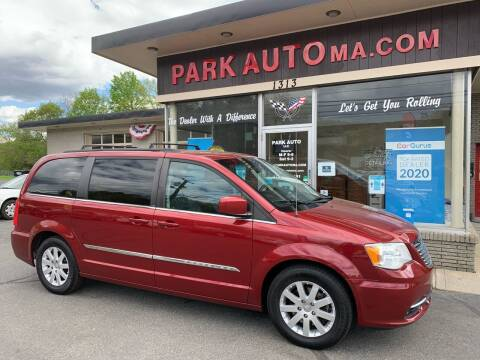 2013 Chrysler Town and Country for sale at Park Auto LLC in Palmer MA