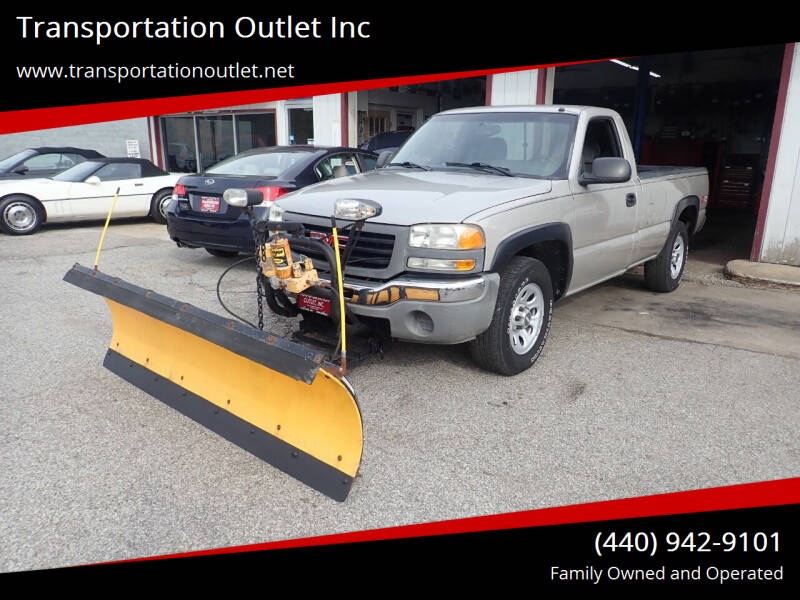 2006 GMC Sierra 1500 for sale at Transportation Outlet Inc in Eastlake OH