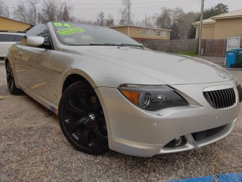 2004 BMW 6 Series for sale at The Auto Connect LLC in Ocean Springs MS