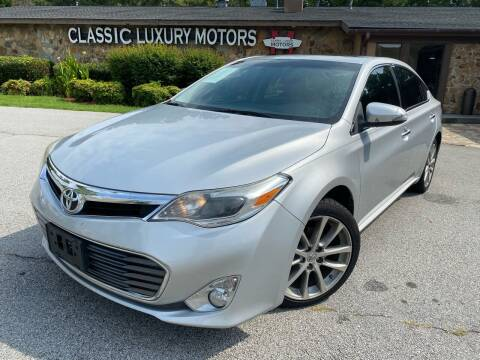 2014 Toyota Avalon for sale at Classic Luxury Motors in Buford GA