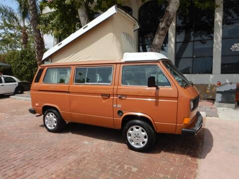 1982 Volkswagen Vanagon for sale at California Cadillac & Collectibles in Los Angeles CA
