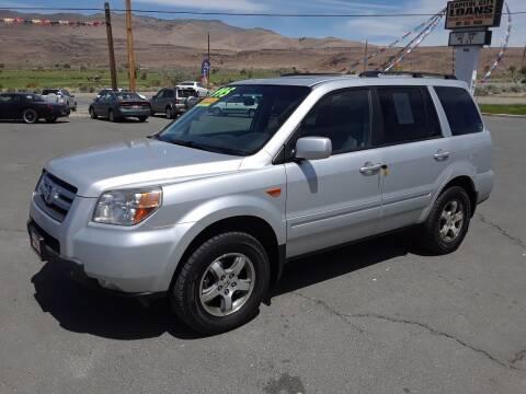 2008 Honda Pilot for sale at Super Sport Motors LLC in Carson City NV