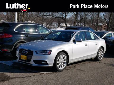2013 Audi A4 for sale at Park Place Motor Cars in Rochester MN