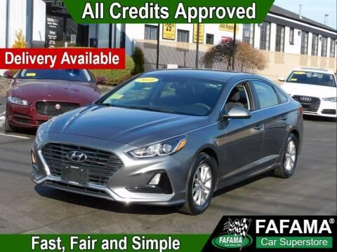 2018 Hyundai Sonata for sale at FAFAMA AUTO SALES Inc in Milford MA