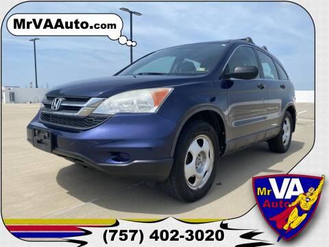 2010 Honda CR-V for sale at Mr VA Auto in Chesapeake VA