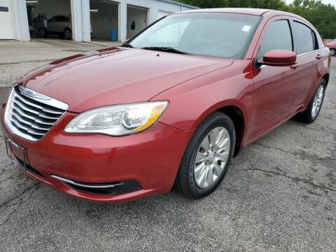 2014 Chrysler 200 for sale at Art Hossler Auto Plaza Inc - Used Inventory in Canton IL