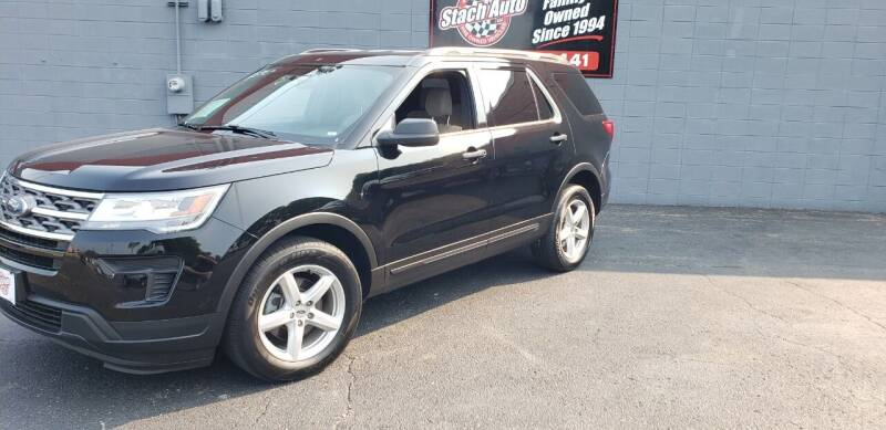 2018 Ford Explorer for sale at Stach Auto in Janesville WI