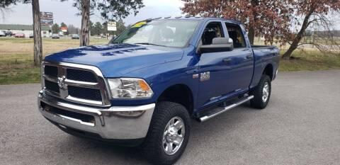 2016 RAM Ram Pickup 2500 for sale at Elite Auto Sales in Herrin IL