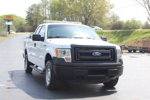 2014 Ford F-150 for sale at Baldwin Automotive LLC in Greenville SC