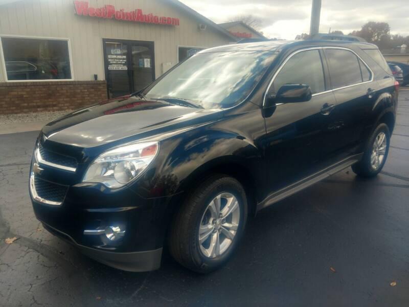 2013 Chevrolet Equinox for sale at West Point Auto Sales in Mattawan MI