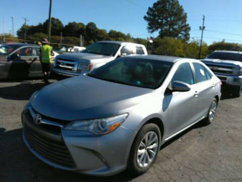 2016 Toyota Camry for sale at Adams Auto Group Inc. in Charlotte NC