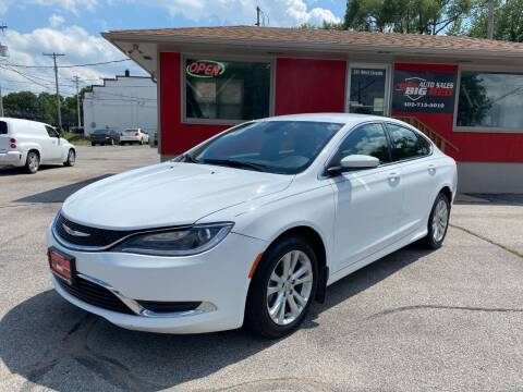 2016 Chrysler 200 for sale at Big Red Auto Sales in Papillion NE