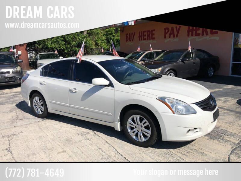 2012 Nissan Altima for sale at DREAM CARS in Stuart FL
