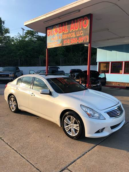 2013 Infiniti G37 Sedan for sale at Global Auto Sales and Service in Nashville TN