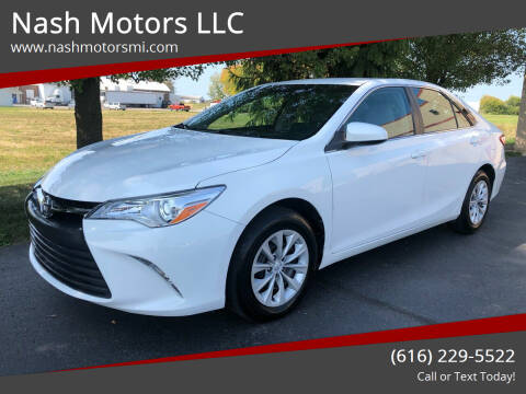 2015 Toyota Camry for sale at Nash Motors LLC in Hudsonville MI