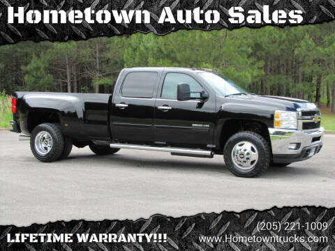 2013 Chevrolet Silverado 3500HD for sale at Hometown Auto Sales - Trucks in Jasper AL