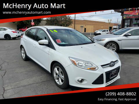 2014 Ford Focus for sale at McHenry Auto Mart in Turlock CA