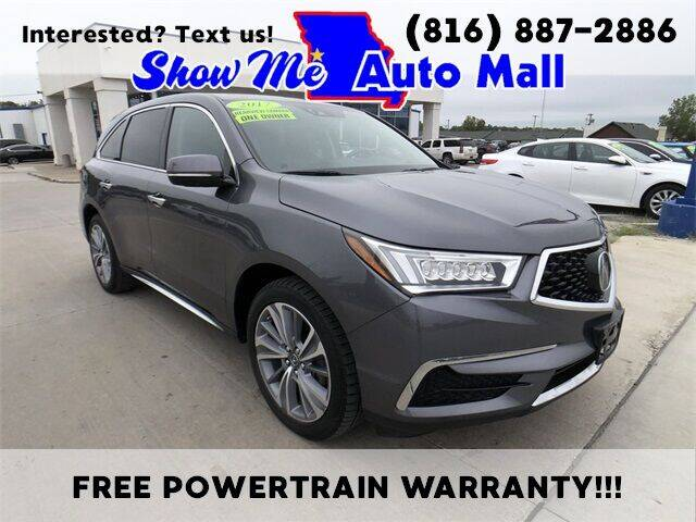 2017 Acura MDX for sale at Show Me Auto Mall in Harrisonville MO