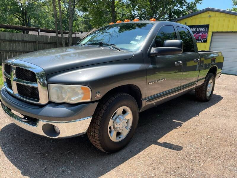 2004 Dodge Ram Pickup 3500 for sale at M & J Motor Sports in New Caney TX