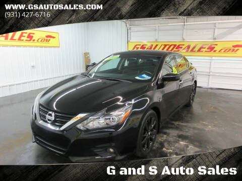 2017 Nissan Altima for sale at G and S Auto Sales in Ardmore TN