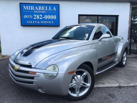 2004 Chevrolet SSR for sale at Mirabella Motors in Tampa FL
