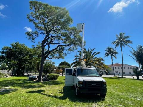 2008 Ford E-350 BUCKET VAN for sale at Transcontinental Car USA Corp in Fort Lauderdale FL