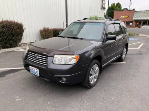 2008 Subaru Forester for sale at DAVENPORT MOTOR COMPANY in Davenport WA