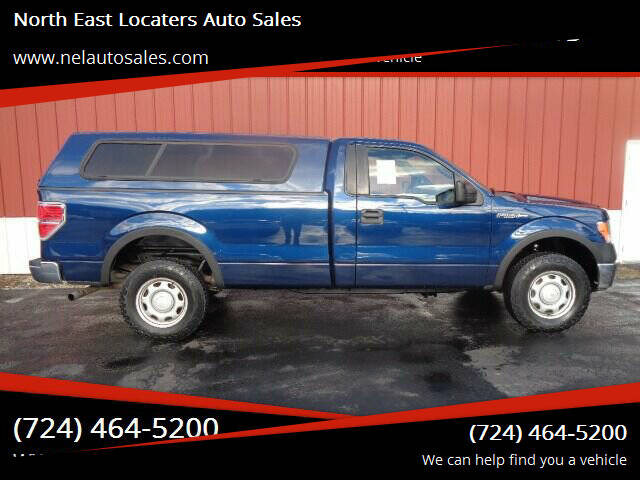 2012 Ford F-150 for sale at North East Locaters Auto Sales in Indiana PA