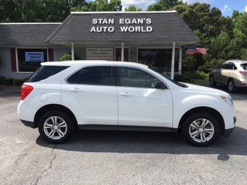 2012 Chevrolet Equinox for sale at STAN EGAN'S AUTO WORLD, INC. in Greer SC