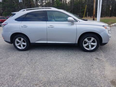 2010 Lexus RX 350 for sale at Lewis Auto Sales in Lisbon ME