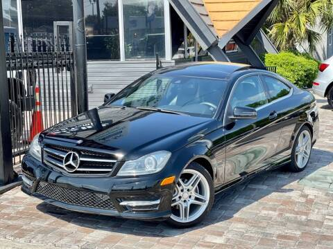 2015 Mercedes-Benz C-Class for sale at Unique Motors of Tampa in Tampa FL