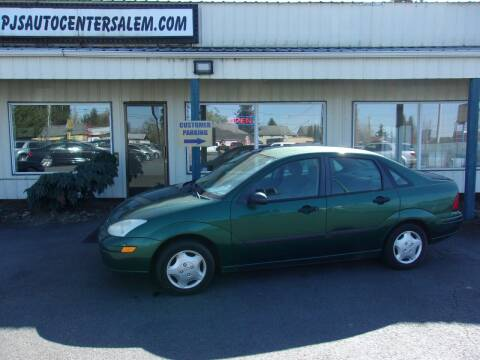 2001 Ford Focus for sale at PJ's Auto Center in Salem OR