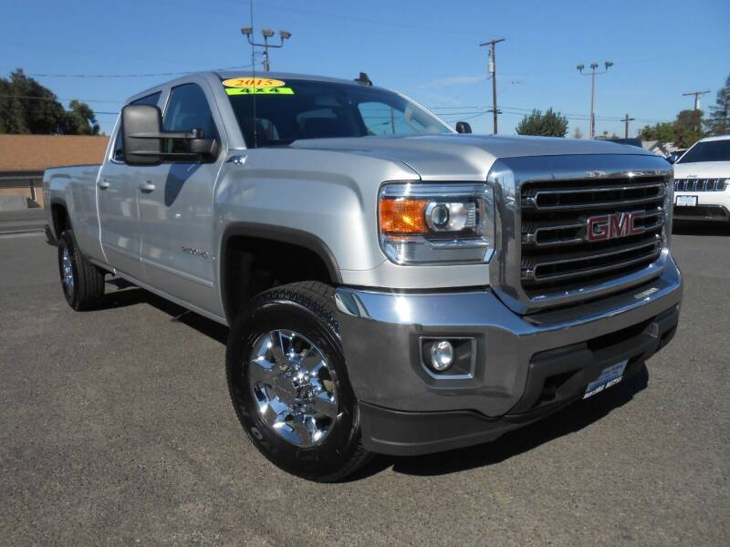 2015 GMC Sierra 2500HD for sale at McKenna Motors in Union Gap WA