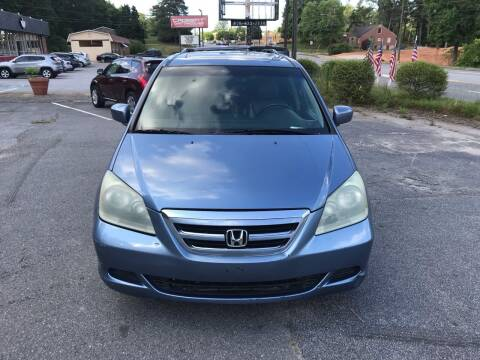 2007 Honda Odyssey for sale at CAR STOP INC in Duluth GA