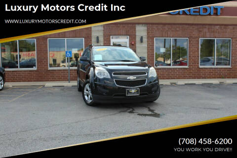 2012 Chevrolet Equinox for sale at Luxury Motors Credit Inc in Bridgeview IL