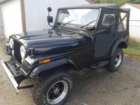 1973 Jeep Wrangler for sale at SpringField Select Autos in Springfield IL