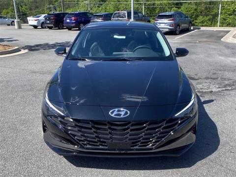 2021 Hyundai Elantra Hybrid for sale at CU Carfinders in Norcross GA