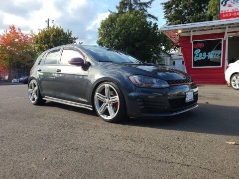 2015 Volkswagen Golf GTI for sale at Universal Auto Sales in Salem OR
