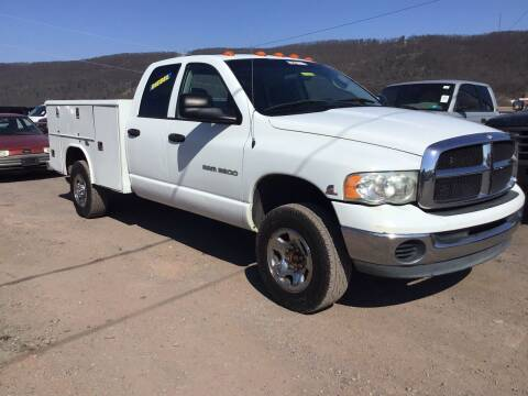 2005 Dodge Ram Chassis 3500 for sale at Troys Auto Sales in Dornsife PA