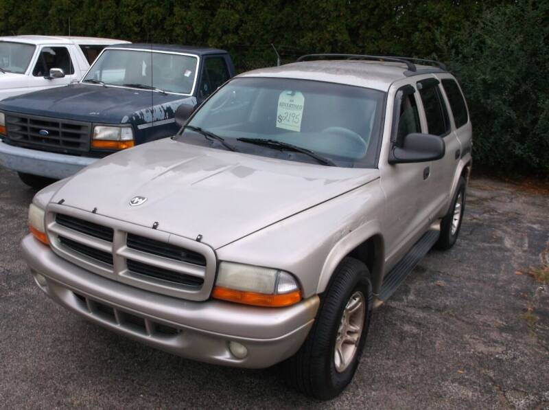 2001 Dodge Durango for sale at M & N CARRAL in Osceola IN
