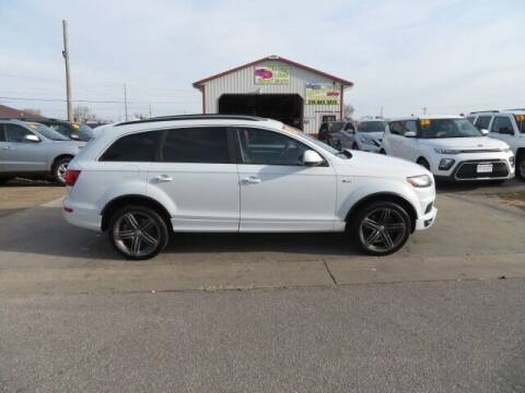 2012 Audi Q7 for sale at Jefferson St Motors in Waterloo IA