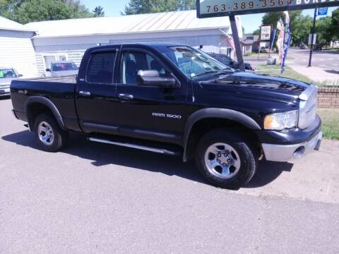 2002 Dodge Ram Pickup 1500 for sale at Border Auto of Princeton in Princeton MN