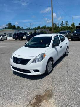 2014 Nissan Versa for sale at Jamrock Auto Sales of Panama City in Panama City FL