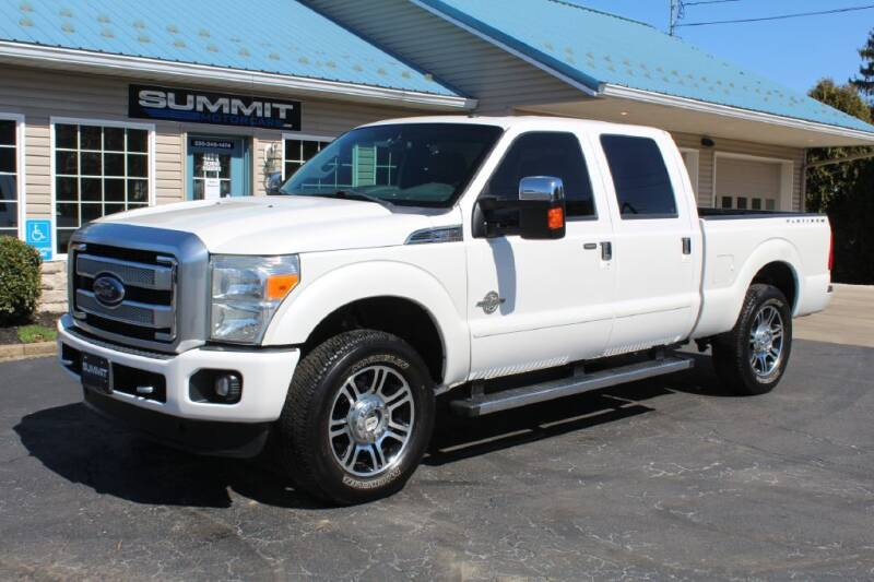 2013 Ford F-250 Super Duty for sale at Summit Motorcars in Wooster OH