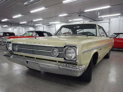 1966 Plymouth Belvedere for sale at Custom Rods and Muscle in Celina OH