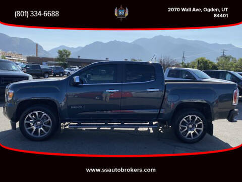 2019 GMC Canyon for sale at S S Auto Brokers in Ogden UT