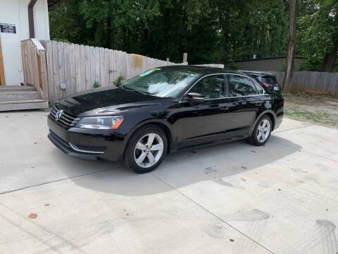 2013 Volkswagen Passat for sale at Carflex Auto in Charlotte NC