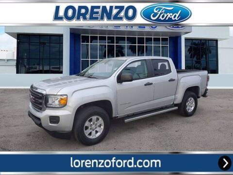 2018 GMC Canyon for sale at Lorenzo Ford in Homestead FL
