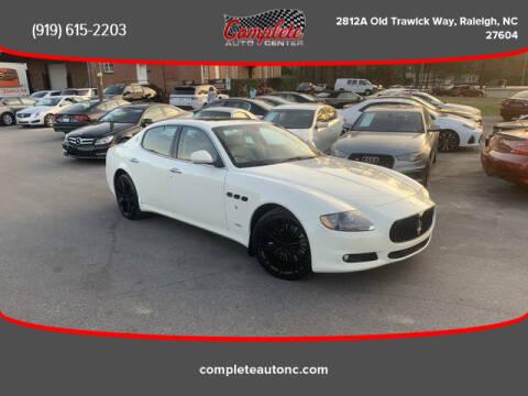 2012 Maserati Quattroporte for sale at Complete Auto Center , Inc in Raleigh NC
