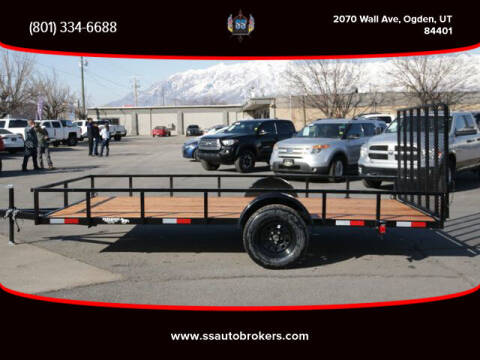 2021 K&S FABRICATIONS FLATBED TRAILER for sale at S S Auto Brokers in Ogden UT
